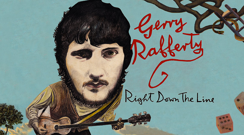 Gerry Rafferty Right Down the Line, motion graphics, Glasgow