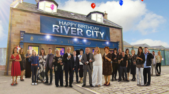 Happy Birthday River City, Motion Graphics, Scotland